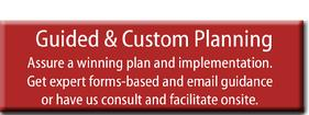 Guided and custom planning